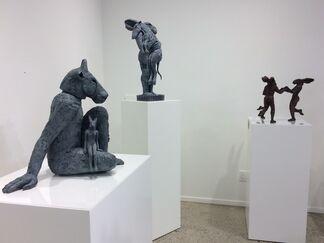 Sophie Ryder, installation view