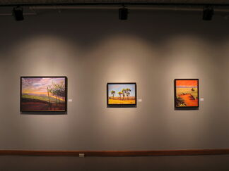 Emily Wood: Familiar Places, installation view