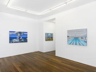 "Dean Monogenis : ""Metafiction"", installation view"
