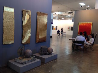 Galerie Agnès Monplaisir at SP-Arte 2015, installation view
