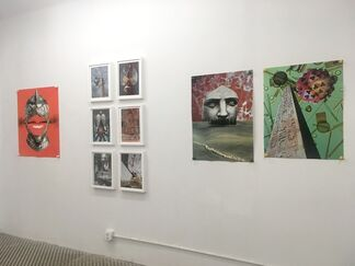 Andre Rubin: Collage, Enjoyment, Ideology, installation view