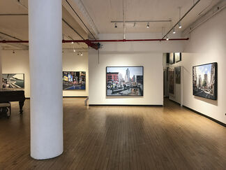 Bertrand Meniel: Street Views, installation view
