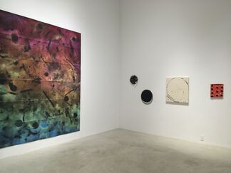 How Some Paintings Are Born, installation view