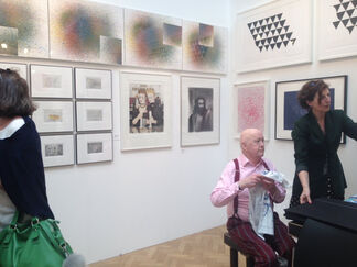 Joanna Bryant Projects at The London Original Print Fair 2016, installation view