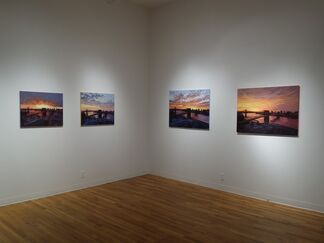 Sunrise From the Artist's Balcony, installation view