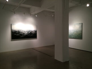 Primordial Waters - Recent Paintings by MaryBeth Thielhelm, installation view