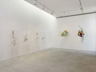 Frank Stella & Larry Bell, installation view