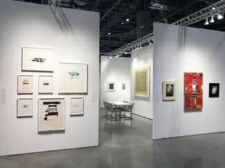 Allan Stone Projects at Seattle Art Fair 2017, installation view