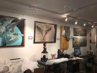 Artist Femina, installation view