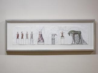jd hansen new sculptures, installation view