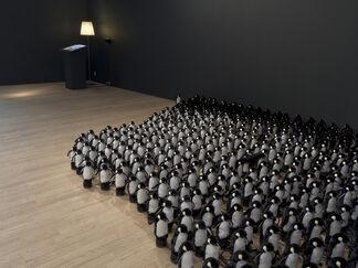 """Daniel Rozin, """"Descent With Modification"""", installation view"""