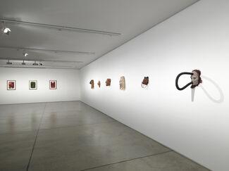 Huma Bhabha   Players, installation view