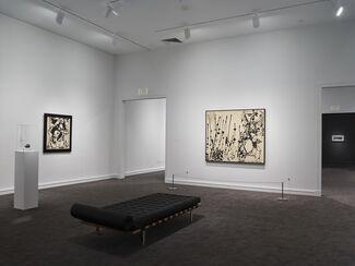 Jackson Pollock: Blind Spots, installation view