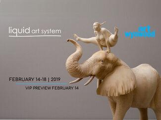 Liquid art system at Art Wynwood 2019, installation view