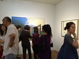 """""""Strolling by a Streamside""""– Solo Exhibition of Wan-Chun Wang, installation view"""
