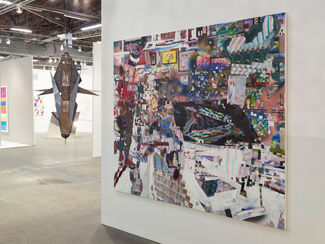 Haines Gallery at The Armory Show 2017, installation view
