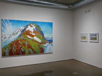 Paintings from Iceland, installation view