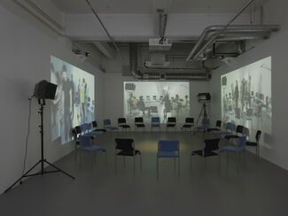 Alice Theobald: They keep putting words in my mouth! An operetta of sorts, installation view