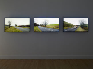 Andy Goldsworthy: Drawing Water Standing Still, installation view
