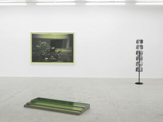 The Walk...in green, installation view