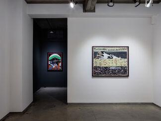 William Hawkins: The Unmediated Vision of William Hawkins, installation view