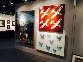 Quidley & Company at LA Art Show 2015, installation view