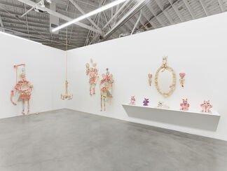 It would be very glamorous to be reincarnated as a great big ring on Liz Taylor's finger, installation view