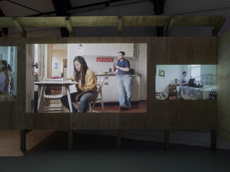 Sharon Hayes 'In My Little Corner of the World, Anyone Would Love You', installation view