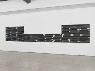 David Tremlett: New Work on Paper, installation view