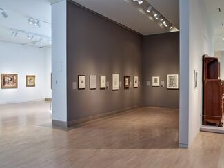 Multiple Selves: Portraits in Print from Rembrandt to Rivera, installation view