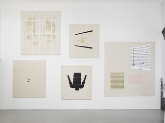 Florian Meisenberg: Delays During Transit (Tales of Prematurity), installation view