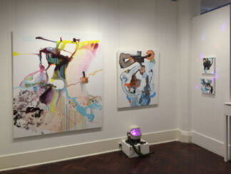 Michael Gromm: disco.end.ever, installation view