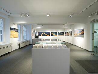 Christo & Jeanne-Claude - The floating piers. Limitierte Fotografien von Wolfgang Volz, installation view