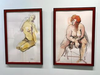 CAROLYN NEWBERGER: Drawing from Life: Nude as Mirror and Muse, installation view