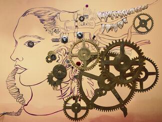 Chitra Ganesh: Eyes of Time, installation view