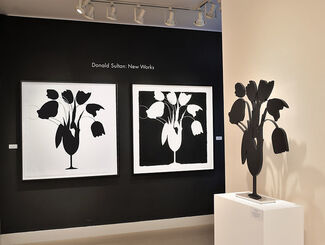 Donald Sultan | New Works: Poppies, Mimosas and Buttons, installation view