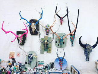Tracy Lee Griffith: Herd, installation view
