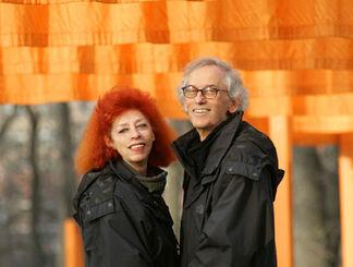Christo & Jeanne-Claude // 1960 - 2010, installation view