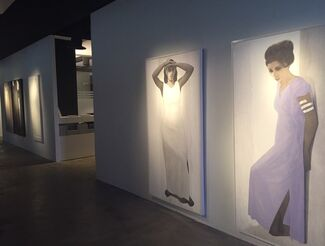 Synchronising Light & Shadow تزامن الضوء و الظل, installation view