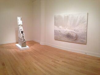 """Stephen DeStaebler and Danae Mattes """"Two Geologies, installation view"""