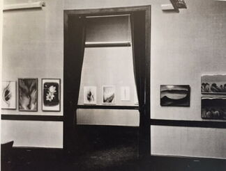 """Georgia O'Keeffe """"Some Memories of Drawings"""" 1968 10 Lithgrpahs, installation view"""