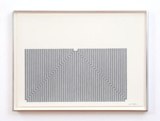 Frank Stella: Selected Early Works, installation view