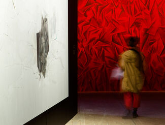"""""""Les Habitants,"""" an idea by Guillermo Kuitca, installation view"""