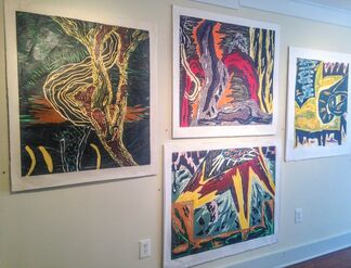 Gregory Amenoff: Selected Prints 1983-2013, installation view