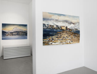 Lars Lerin, Nordland, installation view