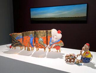 Miles Bair, Ahzad Bogosian, Jeffrey Vaughn: Landscape Exhibition, installation view