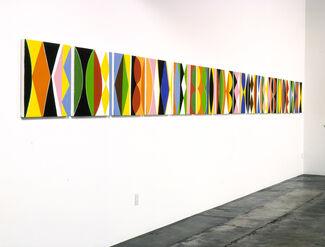 Kim MacConnel: 2004.1, installation view