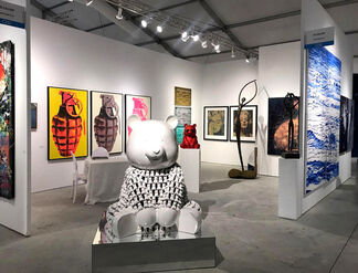 ZK Gallery at CONTEXT Art Miami 2018, installation view