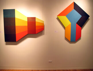Paul Reed & the Shaped Canvas in the 1960s, installation view