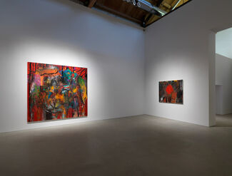 Jim Dine: Looking at the Present, installation view